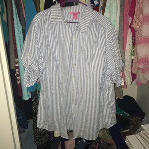 Woman Within Button Down